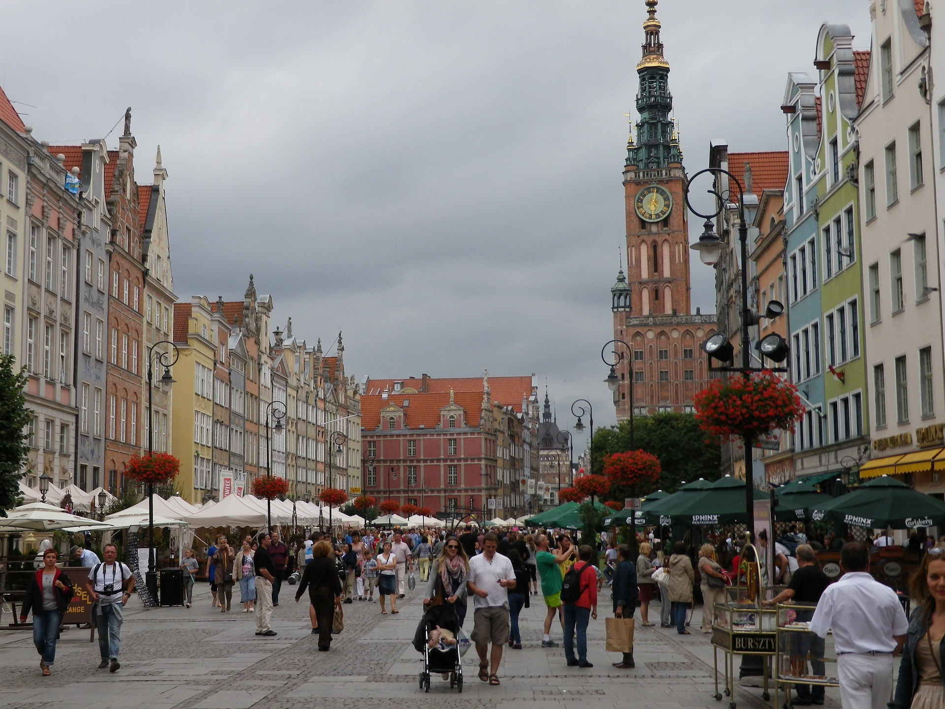 Photo of the city Gdańsk