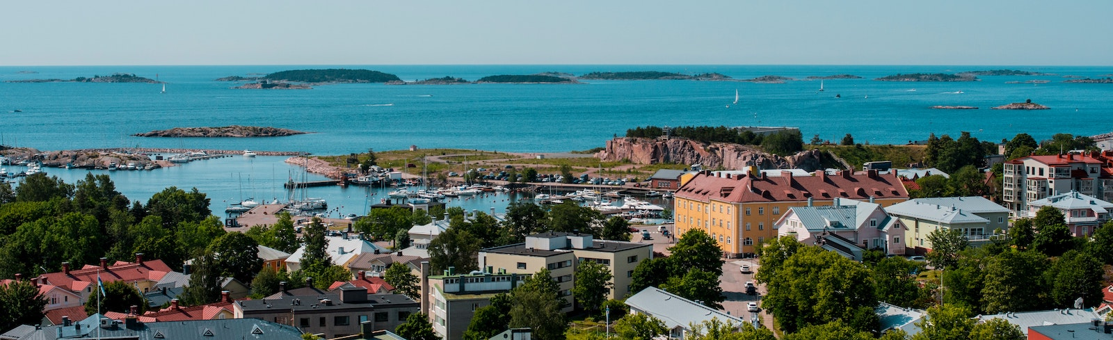 Photo of the city Hanko