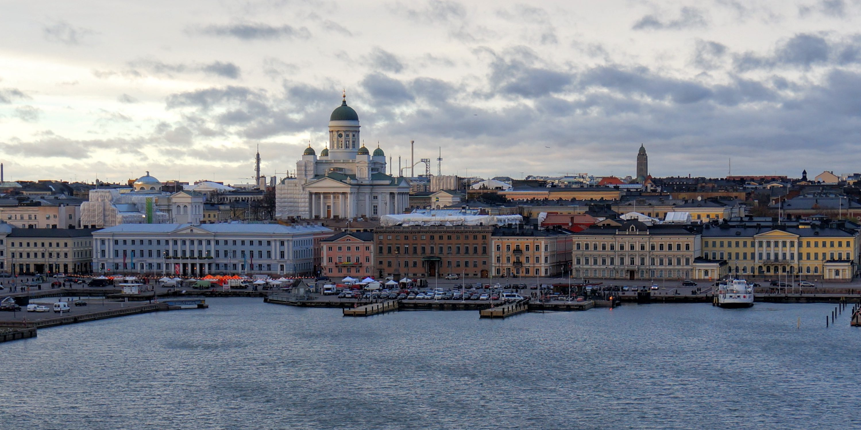 Photo of the city Helsinki