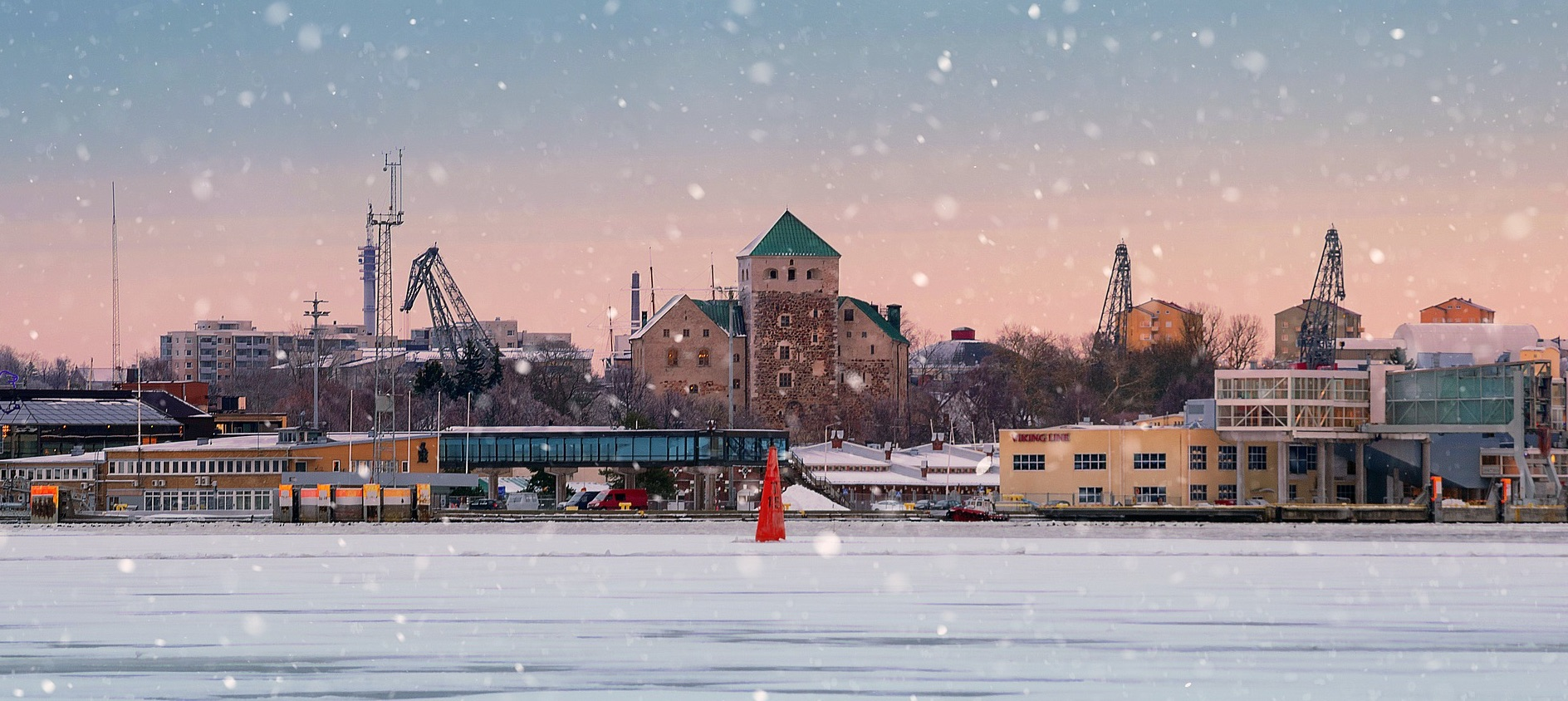 Pilsētas Turku fotoattēls