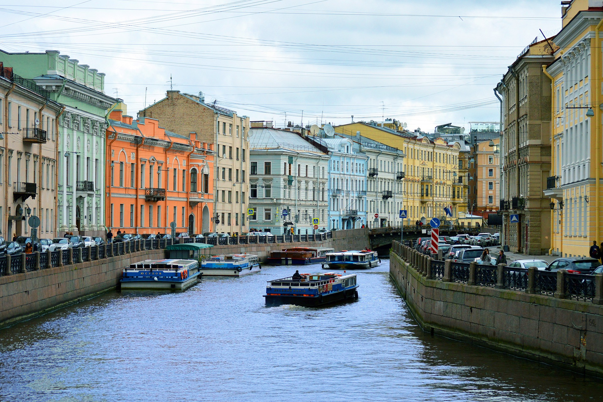"Saint Petersburg is also know as the ""Venice of the North"" because the large number of canals within the city."