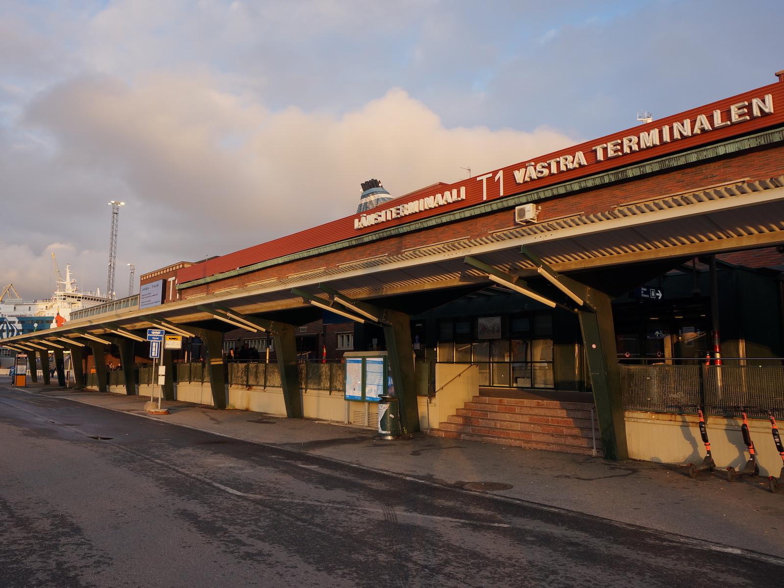 Terminal 1 of Helsinki West Harbor (Länsiterminaali T1)