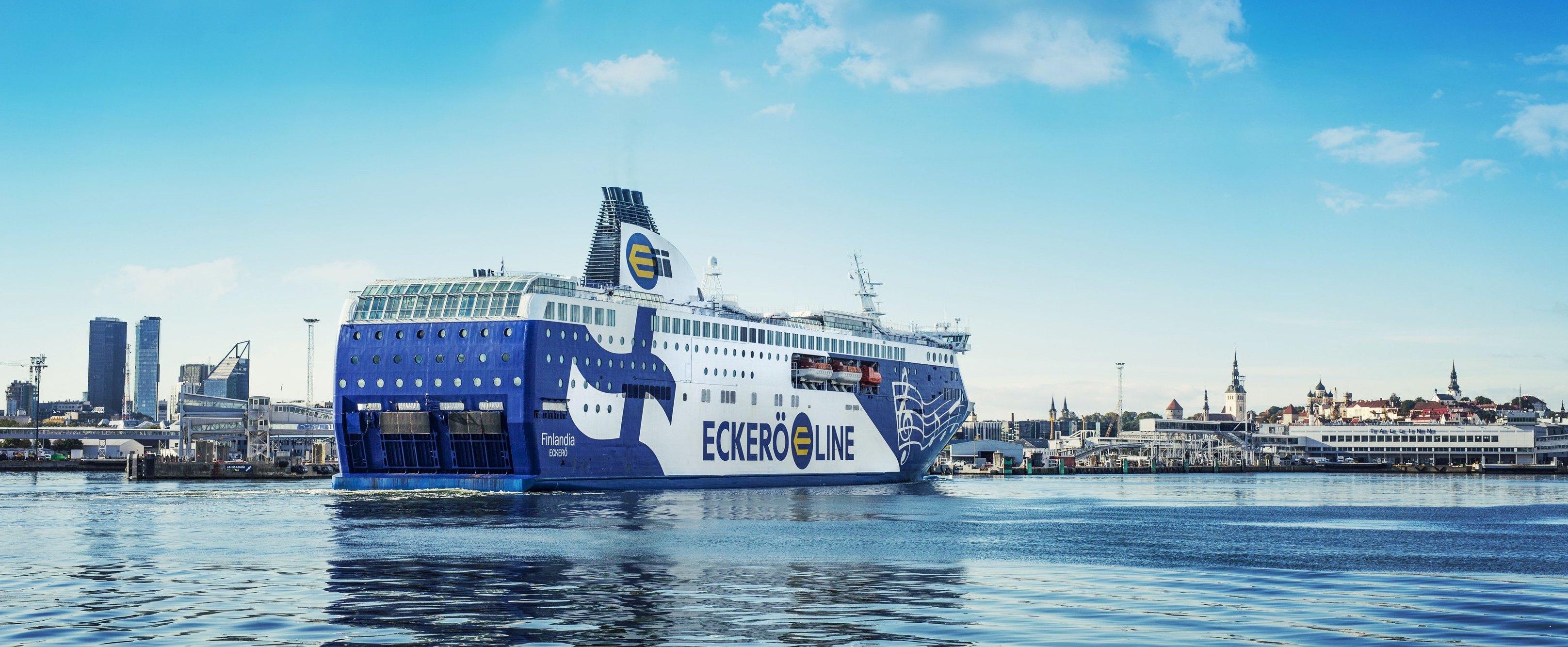 Foto do navio Eckerö Line - Finlandia