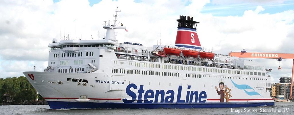 Stena Line - kuģa Stena Danica foto