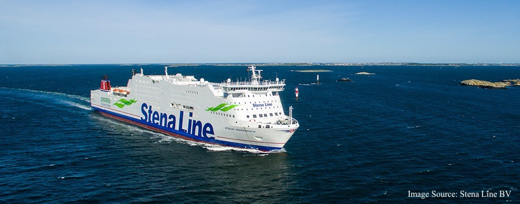M/S Stena Germanica is one of Stena Line's most modern ships connecting Kiel and Gothenburg.