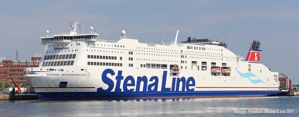 Kuva Stena Line - Stena Scandinavica aluksesta