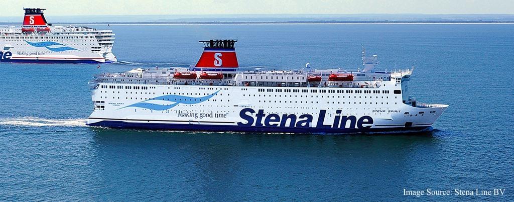 Stena Line - kuģa Stena Spirit foto