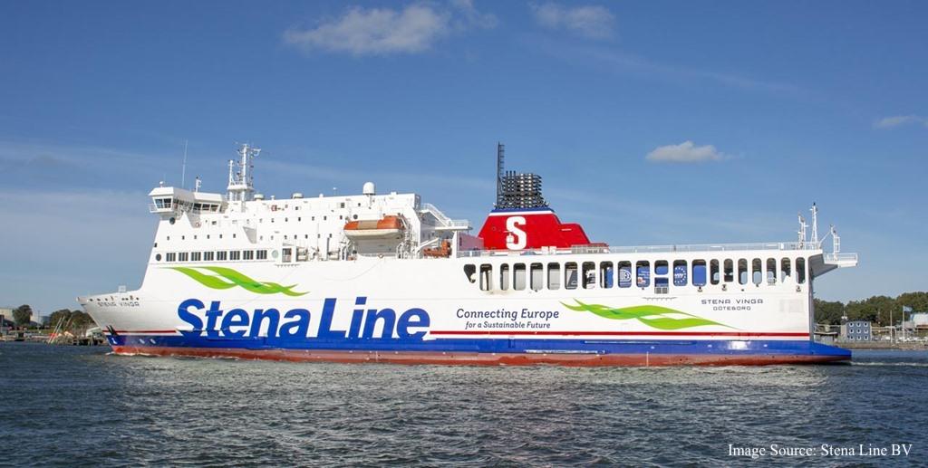 Foto von Stena Line - Stena Vinga Schiff