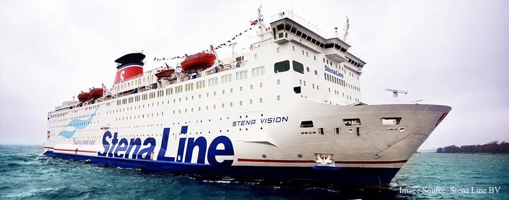 Kuva Stena Line - Stena Vision aluksesta