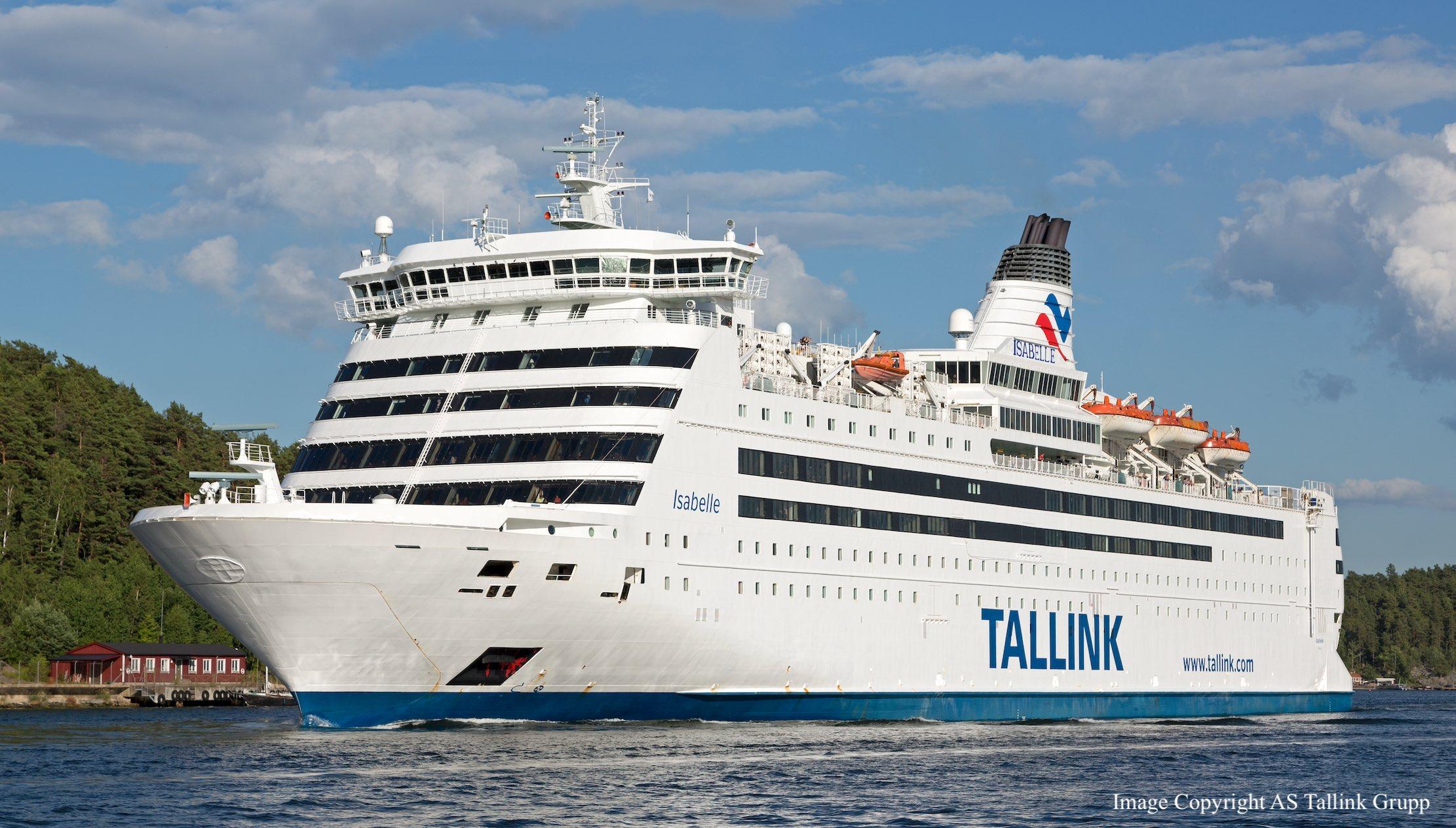 Tallink Silja - kuģa Isabelle foto