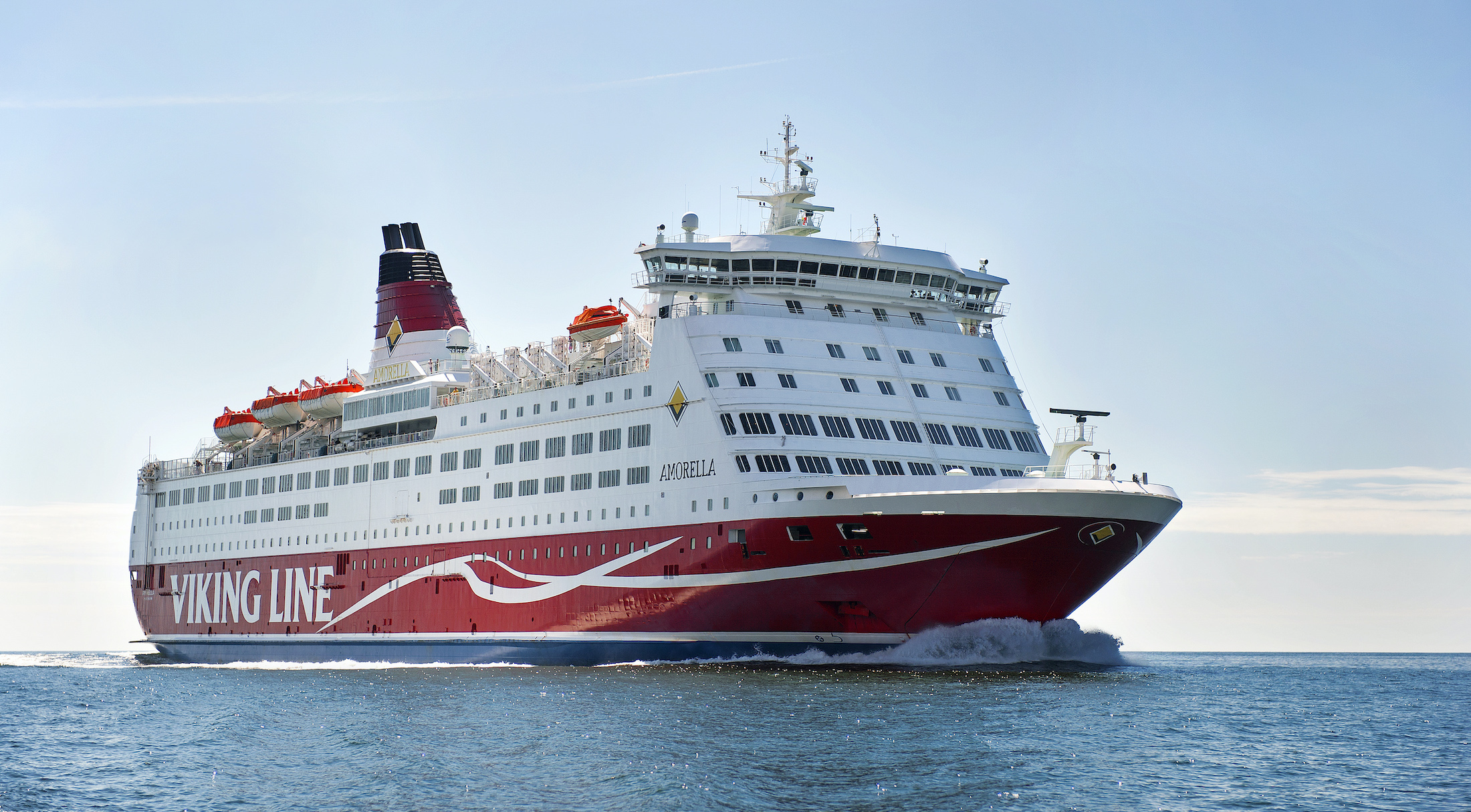 Фотография Viking Line в Amorella судна