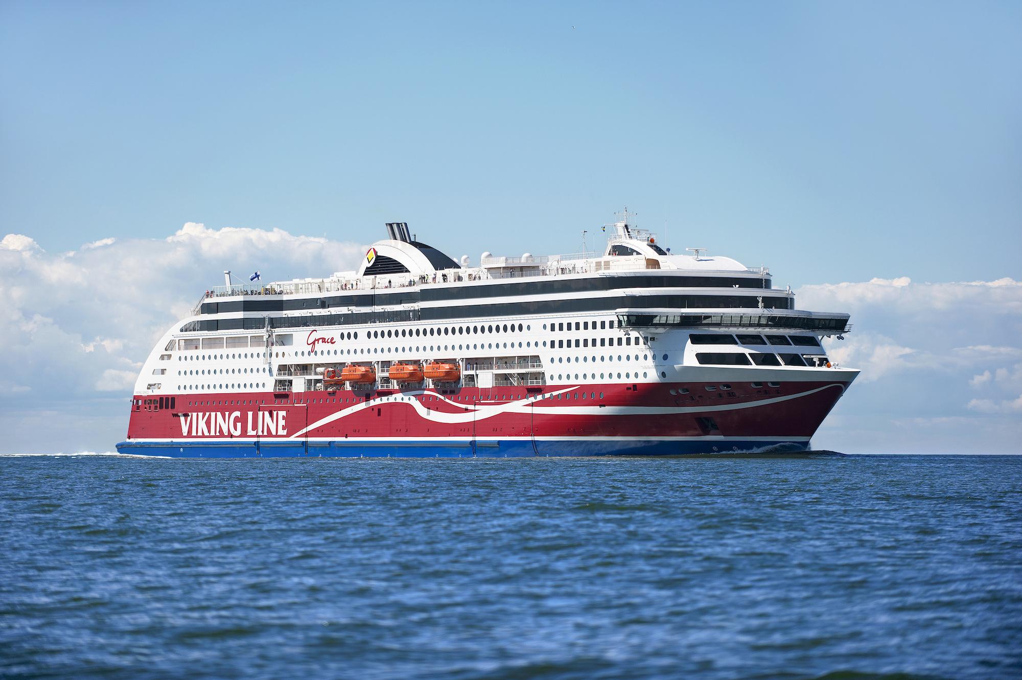 Kuva Viking Line - Viking Grace aluksesta