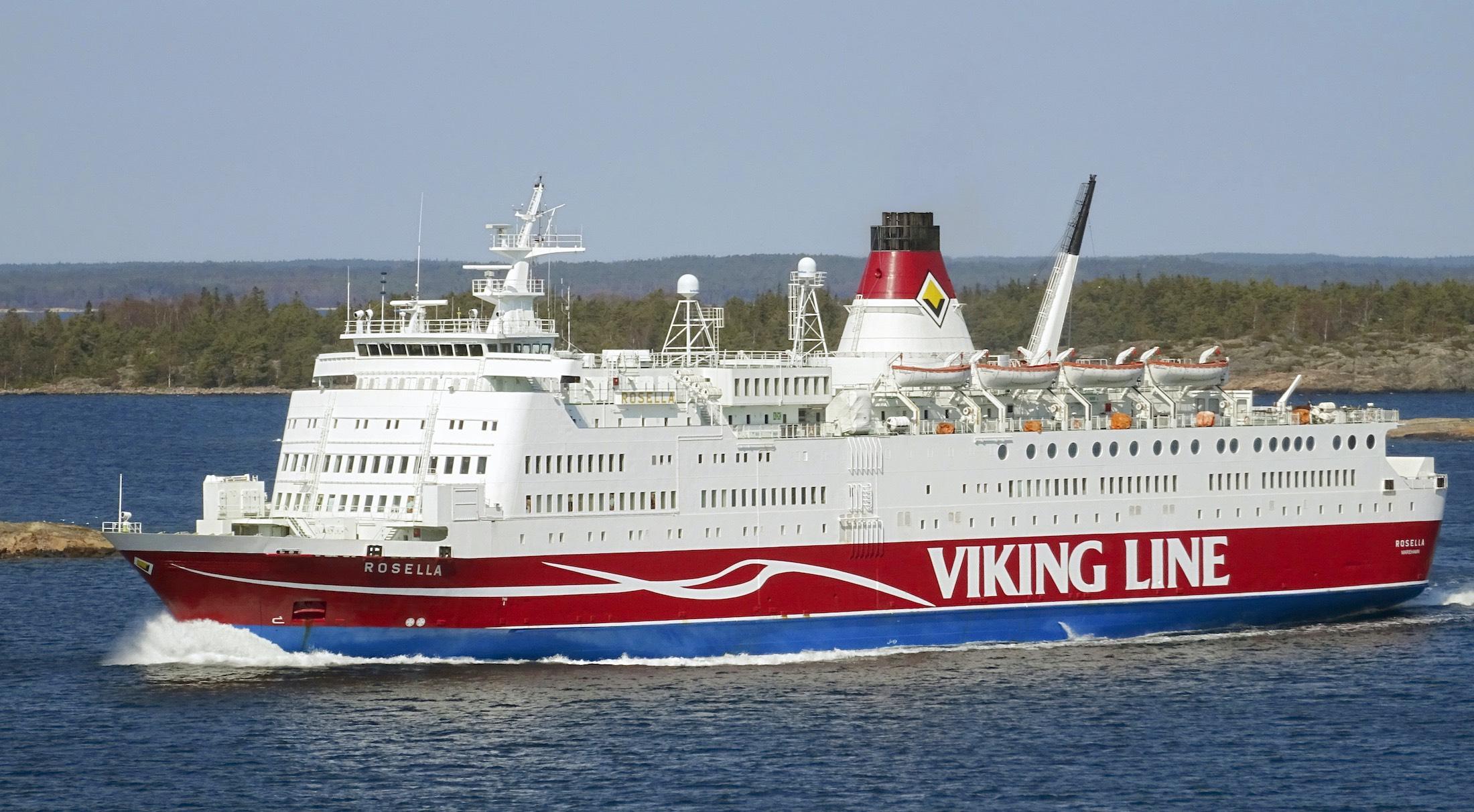 Photo of Viking Line - Rosella ship